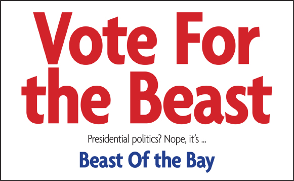 VOTE!  Beast of the Bay Awards