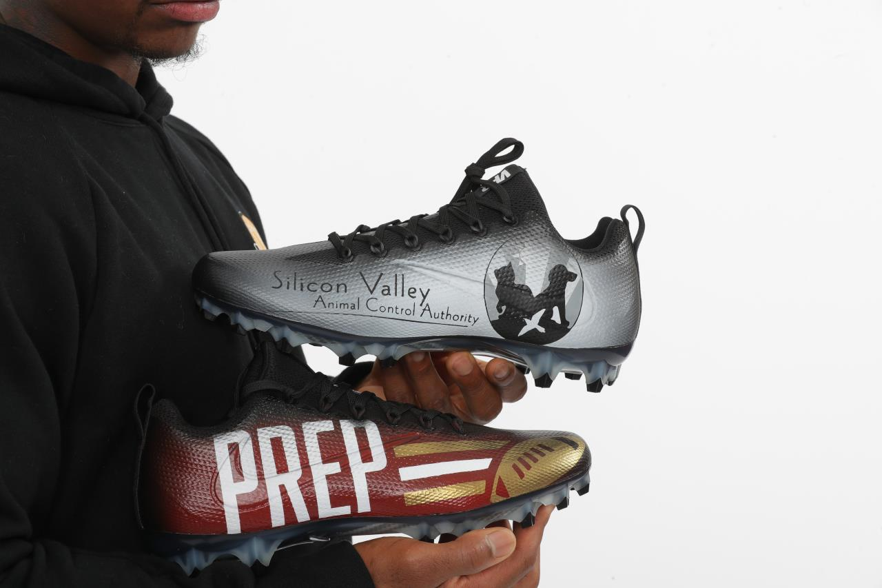 SVACA Chosen for My Cause My Cleats by SF 49er Jerick McKinnon!